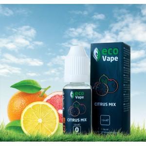 Жидкость для электронных сигарет Eco Vape – Citrus Mix (Цитрус микс) 10 мл