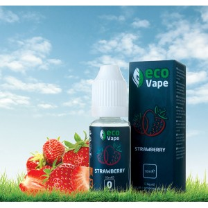 Жидкость для электронных сигарет Eco Vape – Strawberries (Клубника) 10 мл