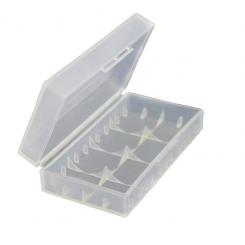 Пластиковый бокс для аккумуляторов 21700 (на 2 штуки)