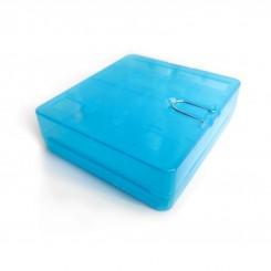 Пластиковый бокс для аккумуляторов 18650 (на 4 штуки)