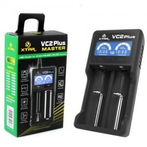 Купить Зарядное устройство XTAR VC2 PLUS master для Li-Ion / Ni-Mh аккумуляторов в Украине
