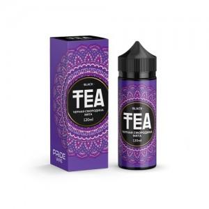 Жидкость TEA Black - Чёрная смородина Мята