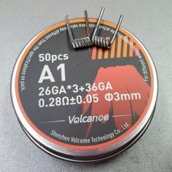 Спираль Fused Clapton A1 26GA*3 36GA