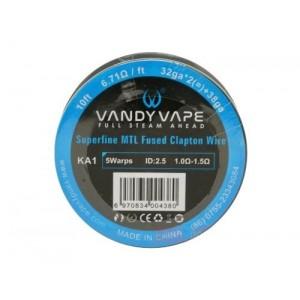 Спираль  Vandy Vape Superfine MTL Fused Clapton Wire KA1 32gax2+38GA