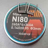 Спираль Fused Clapton Ni80 26GA*4 36GA
