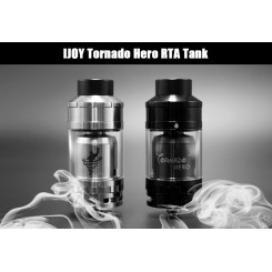 IJOY Tornado Hero RTA 5,2ml Tank Silver,Black